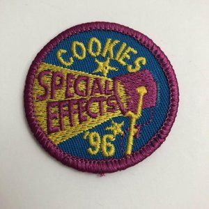 1996 Cookie Patch SPECIAL EFFECTS Girl Scouts